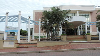 Gladstone Region - Gladstone Regional Council offices in Gladstone Central, 2014