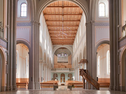 Glarus Stadtkirche Langhaus
