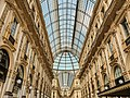 Glass ceiling in Galleria Vittorio Emmanuele II.jpg