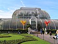 Glass sculptures in front of the Palm House, Kew Gardens - geograph.org.uk - 1051719.jpg