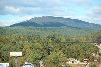 Glassy Mountain (Georgia) - Glassy Mountain in October