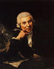 Johann Wilhelm Ludwig Gleim, 1798 gemalt von Ramberg, heute im Gleimhaus in Halberstadt (Quelle: Wikimedia)