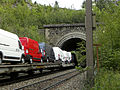 Gloggnitz - KG Aue - Semmeringbahn - Rumplertunnel Endportal mit Autotransport.jpg