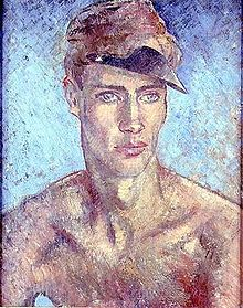 Glyn Warren Philpot - Young Man Wearing a Sun Visor.jpg
