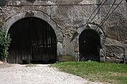 Gościszów Ruiny zamku Brama glowna.JPG