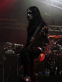 King ov Hell Norwegian musician