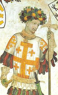 Godfrey of Bouillon French noble, a leader of the First Crusade and first ruler of the Kingdom of Jerusalem (1060-1100)