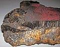 Goethite-hematite (Biwabik Iron-Formation, Paleoproterozoic, ~1.878 Ga; Embarass Mine, Mesabi Iron Range, Minnesota, USA) 2 (34282499830).jpg