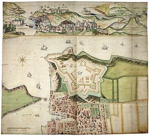 Royal Citadel, Plymouth - De Gomme's original designs for the Royal Citadel.