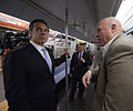 Gov. Cuomo & Chairman Prendergast Ride E Train (15173173320).jpg