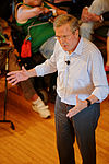 Governor of Florida Jeb Bush, Announcement Tour and Town Hall, Adams Opera House, Derry, New Hampshire by Michael Vadon 43.jpg