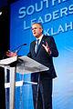 Governor of Florida Jeb Bush at Southern Republican Leadership Conference, Oklahoma City, OK May 2015 by Michael Vadon 06.jpg
