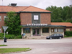 Grängesberg Train Station