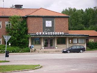 Grängesberg Place in Dalarna, Sweden
