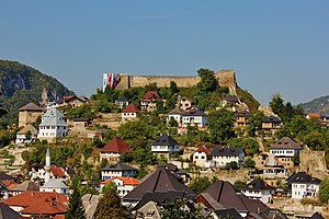 Jajce - Old town and fortress of Jajce