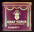 Graf Yorck cigaretets tin, front.JPG
