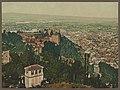 Granada. Vista general de la Alhambra y Grandada desde la Silla del Moro LCCN2017660752.jpg