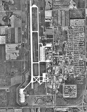 Grand Forks Air Force Base (CDP) - The base in 1997