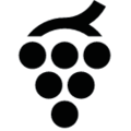 Grapes icon black.png