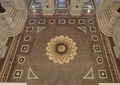 Great Hall. View from above of the zodiac in the marble floor. Library of Congress Thomas Jefferson Building, Washington, D.C. LCCN2007684254.tif