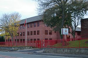 Greater Manchester Fire and Rescue Service - Headquarters in Pendlebury