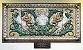 Green Man relief, Birkenhead Central Library.jpg