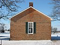 Green Plain Monthly Meetinghouse, eastern side.jpg
