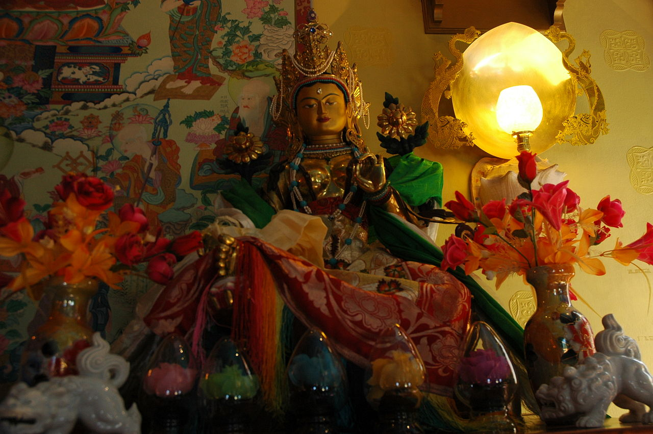 Green tara shrine sakya seattle.jpg