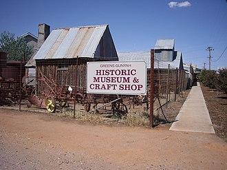 Lockhart, New South Wales - Greens Gunyah Museum