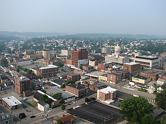 Greensburg, Pennsylvania - Downtown Greensburg