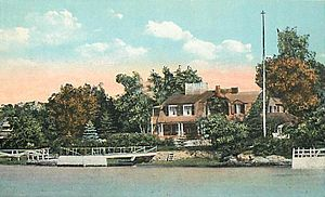 Margaret Deland - Greywood, Margaret Deland's summer home in Kennebunkport, Maine