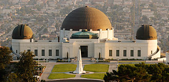 """A Thousand Suns - """"The Catalyst"""", the album's first single, was first performed live at the Griffith Observatory (pictured)."""
