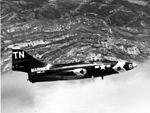 Grumman F9F-5P Panther of VMCJ-3 in flight.jpg