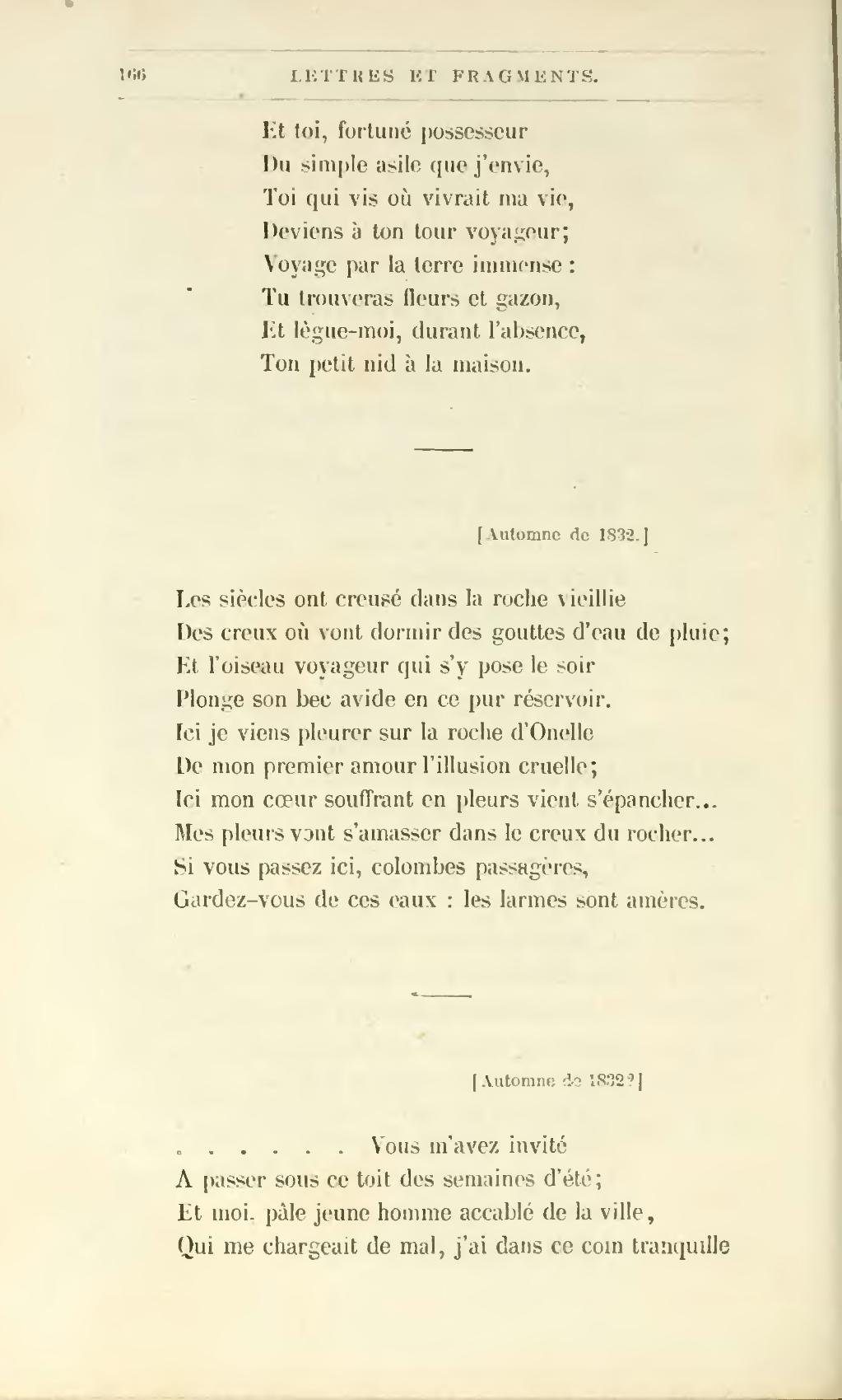 Pageguérin Journal Lettres Et Poèmes 1864 6e éddjvu
