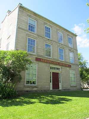 Guelph Civic Museum - Home of the museum from 1977 to 2011 at 6 Dublin St. South.
