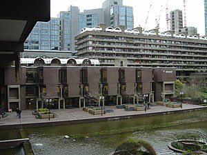 Guildhall School of Music and Drama - Barbican Entrance
