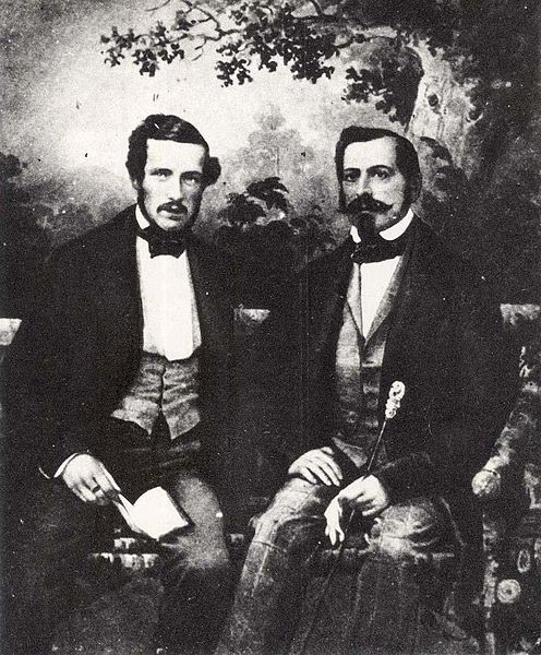 File:Gustav of Sweden & Norway (1827) & Oscar I of Sweden & Norway 1852.jpg
