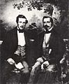 Gustav of Sweden & Norway (1827) & Oscar I of Sweden & Norway 1852.jpg
