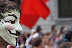 Anonymous activists gaining strength online dating