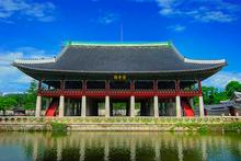 Corea:  palacio de Gyeongbok
