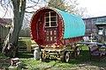 Gypsy Caravan at Rare Breeds Centre, Woodchurch - geograph.org.uk - 1479213.jpg