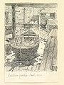 Hälsingland, Rogsta sn., Lakbäcks fiskeläge. Teckning av Ferdinand Boberg - Nordiska museet - NMA.0088246.jpg