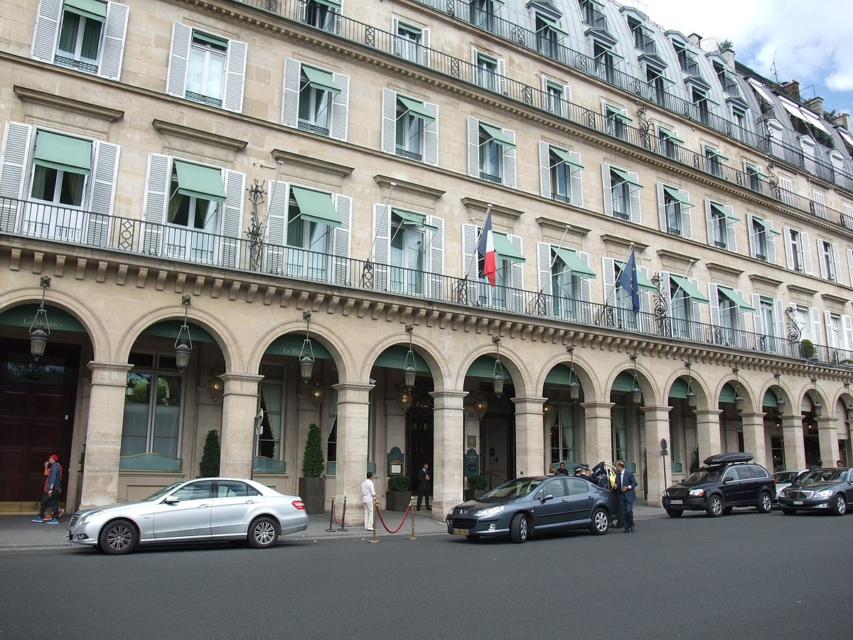 Le meurice wikipedia for Top hotel france
