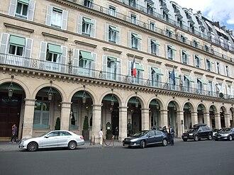 Le Meurice - Image: Hôtel Meurice Paris