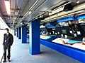 HK City Hall City Gallery interior 中環 展覽館 Central Edinburgh Place visitor Jan-2013.JPG