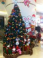 HK Kennedy Town Belcher's 西寶城 Westwood mall interior Xmas tree Bunny King Dec-2011.jpg