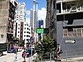 HK SYP 西環 Sai Ying Pun Queen's Road West Johnson Mansion near Kwong Fung Lane September 2020 SS2 02.jpg