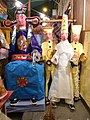 HK Sheung Wan U Lan Ghost Festival night paper goddess Aug-2012.JPG