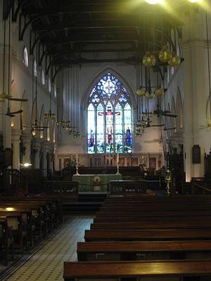 Chung Hua Sheng Kung Hui - St John's Cathedral, Hong Kong