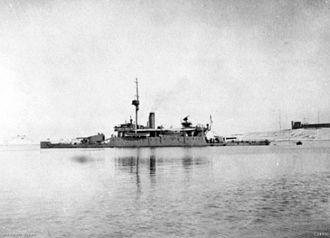 HMS Humber (1913) - Image: HMS Humber AWM C04986